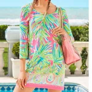 Lilly Pulitzer Beacon Dress Royal Lime